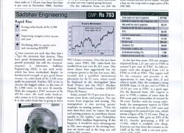 Sadbhav Engineering Streghthen its Position Further
