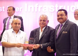 Life Time Achievement Award by Gujarat Contractors Association
