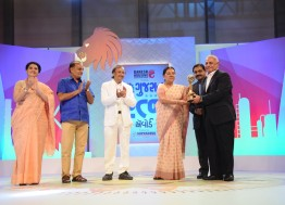 CNBC Bajar Gujarat Ratna Award for the year 2015-16