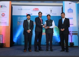 Dun & Bradstreet – Everest Industries Infra Awards 2016